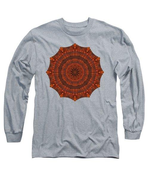 Halloween Kaleidoscope Sliver1-150 Long Sleeve T-Shirt