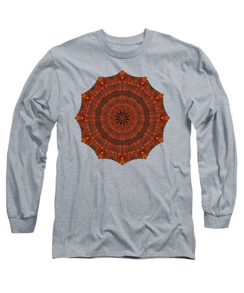 Halloween Kaleidoscope Sliver1-150 Long Sleeve T-Shirt