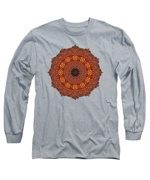 Halloween Kaleidoscope Sliver1-285 Long Sleeve T-Shirt