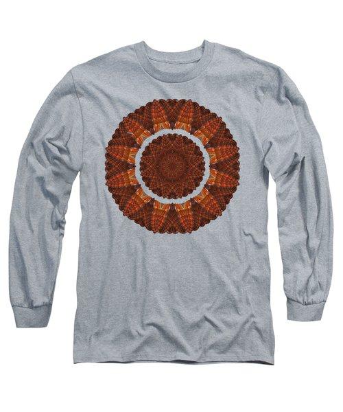 Halloween Kaleidoscope Sliver1-75 Long Sleeve T-Shirt