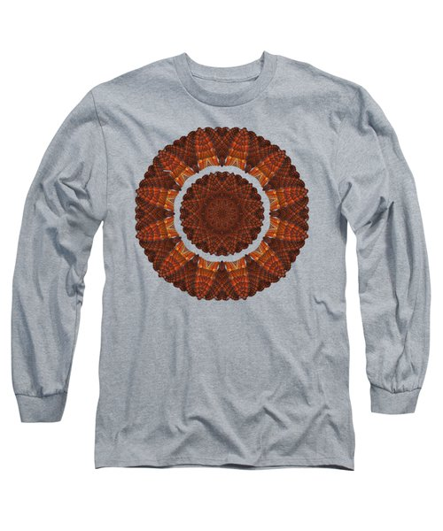 Halloween Kaleidoscope Sliver1-75 Long Sleeve T-Shirt