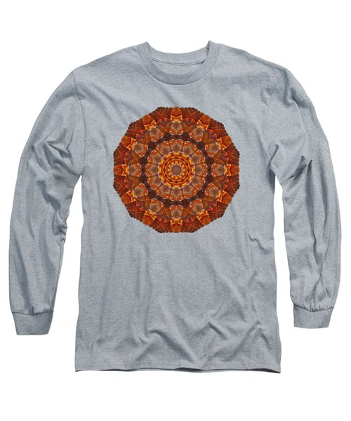 Halloween Kaleidoscope Sliver2-90 Long Sleeve T-Shirt