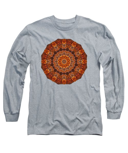 Halloween Kaleidoscope Sliver2-90 Long Sleeve T-Shirt