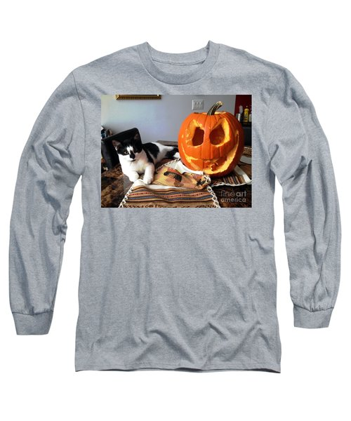 Long Sleeve T-Shirt featuring the photograph Halloween by Vicky Tarcau