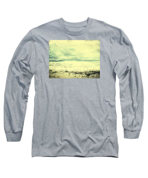 Hallucination On A Beach Long Sleeve T-Shirt