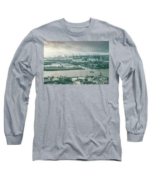 Hamburg Port  Long Sleeve T-Shirt