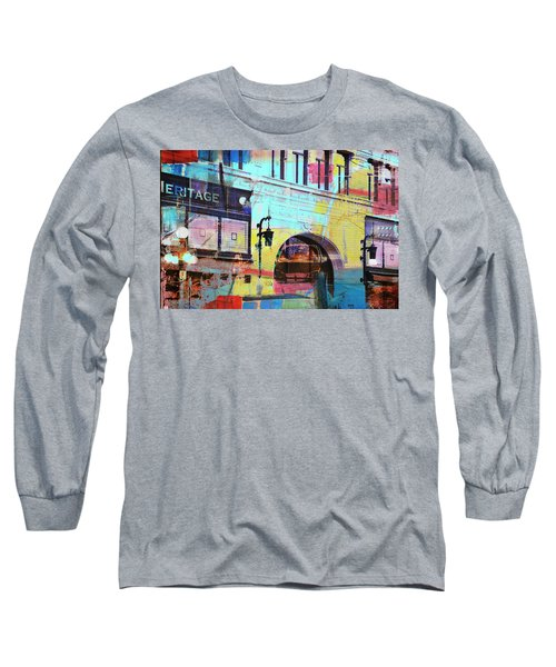 Long Sleeve T-Shirt featuring the photograph Hamm Building St. Paul by Susan Stone