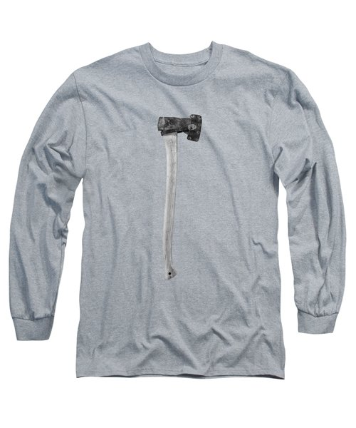 Hand Forged Axe Long Sleeve T-Shirt