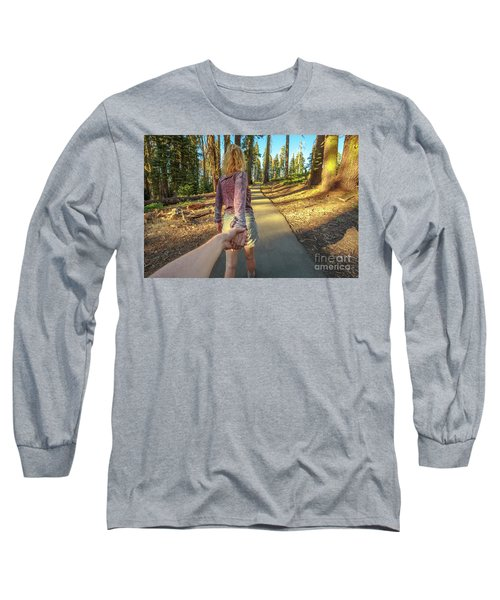 Hand In Hand Sequoia Hiking Long Sleeve T-Shirt