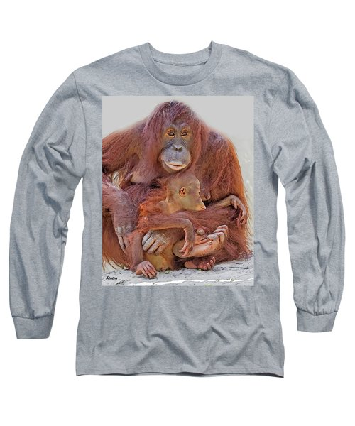 Hands And Feet Long Sleeve T-Shirt