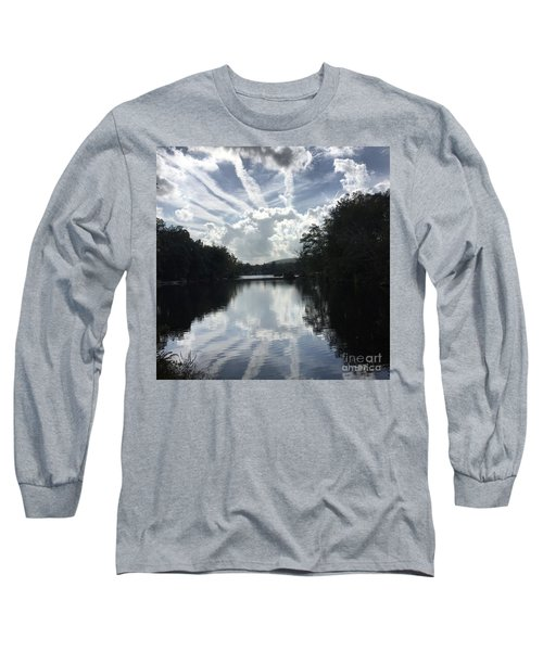 Handsome Cloud Long Sleeve T-Shirt by Jason Nicholas