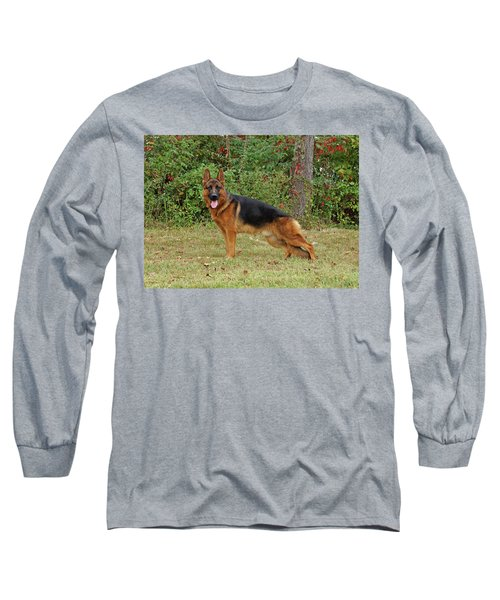 Long Sleeve T-Shirt featuring the photograph Handsome Rocco by Sandy Keeton