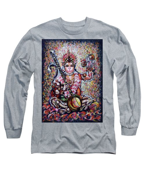 Hanuman - Ecstatic Joy In Rama Kirtan Long Sleeve T-Shirt