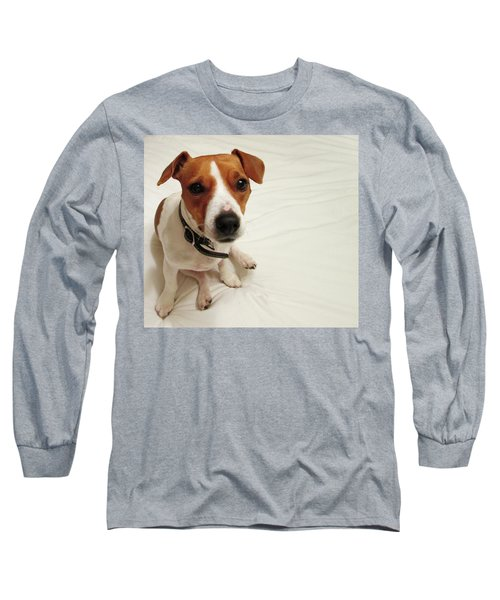 Happiness Is A Cute Puppy Long Sleeve T-Shirt