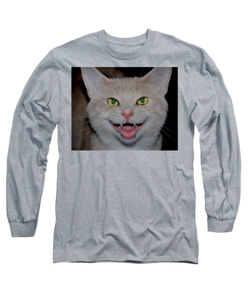 Happy For Spring Cat Long Sleeve T-Shirt