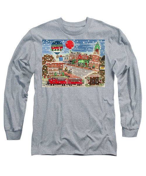 Happy Holidays From Lebanon, Ohio Long Sleeve T-Shirt