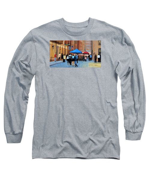 Happy Hour On Stone St. Nyc Long Sleeve T-Shirt