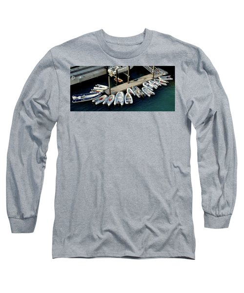 Harbor Boats Long Sleeve T-Shirt