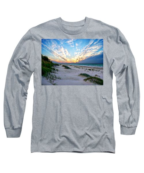 Harbor Island Sunset Long Sleeve T-Shirt