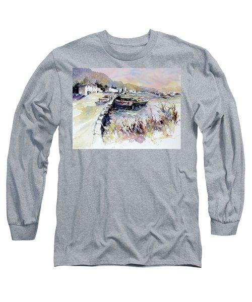 Harbor Shapes Long Sleeve T-Shirt
