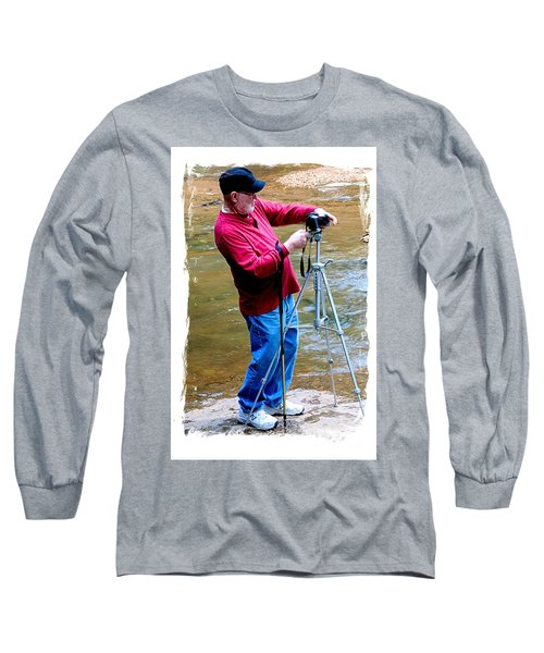 Hard At Work Long Sleeve T-Shirt by Marilyn Carlyle Greiner