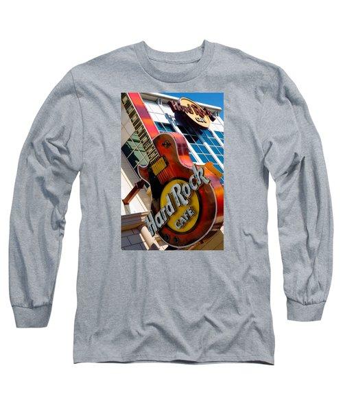 Hard Rock Cafe Niagara Long Sleeve T-Shirt by Bob Pardue