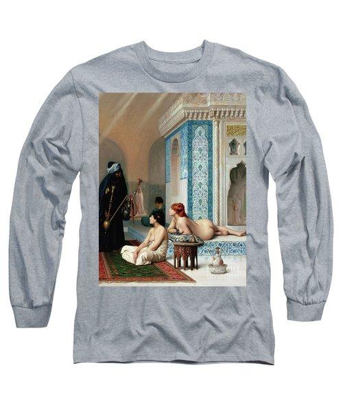 Harem Pool, Jean-leon Gerome Long Sleeve T-Shirt