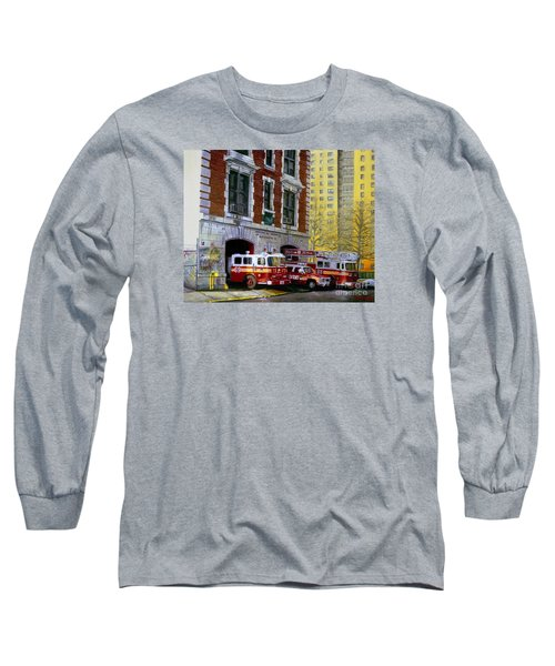 Harlem Hilton Long Sleeve T-Shirt by Paul Walsh