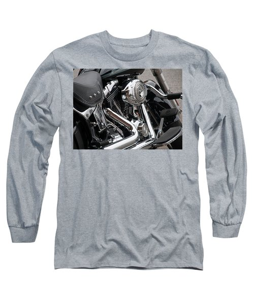 Harley Chrome Long Sleeve T-Shirt
