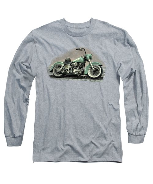 Harley Davidson Classic  Long Sleeve T-Shirt by Movie Poster Prints