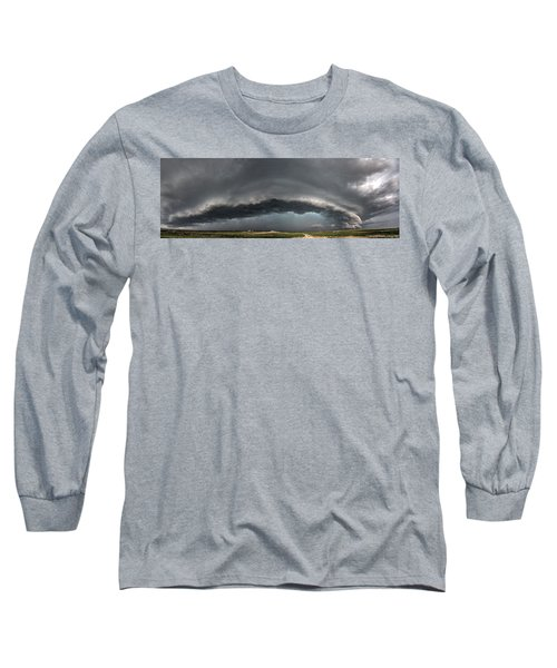 Harlowton, Montana, Supercell Long Sleeve T-Shirt