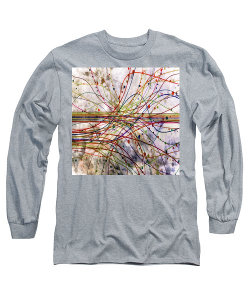 Long Sleeve T-Shirt featuring the digital art Harnessing Energy 1 by Angelina Vick