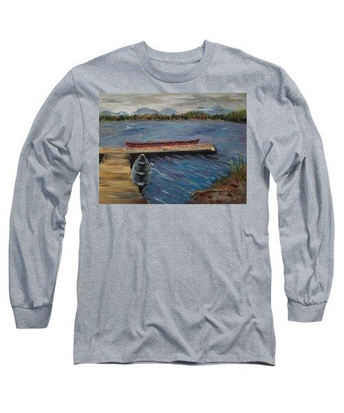 Harriet Hunt Lake, Ketchikan, Alaska Long Sleeve T-Shirt