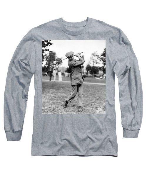Long Sleeve T-Shirt featuring the photograph Harry Vardon - Golfer by International  Images