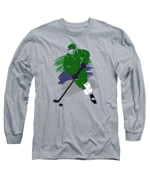 Hartford Whalers Player Shirt Long Sleeve T-Shirt