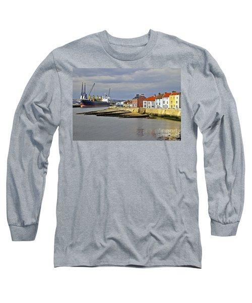 Hartlepool Harbour Evening Long Sleeve T-Shirt