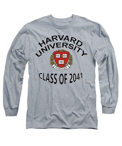 Harvard University Class Of 2041 Long Sleeve T-Shirt
