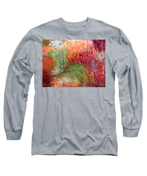 Harvest Abstract Long Sleeve T-Shirt