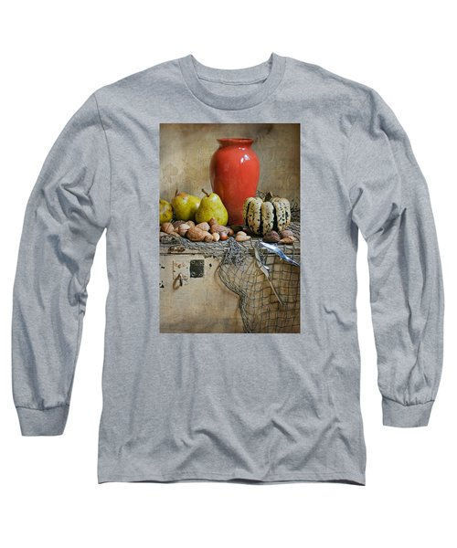 Harvest Vase Long Sleeve T-Shirt by Diana Angstadt