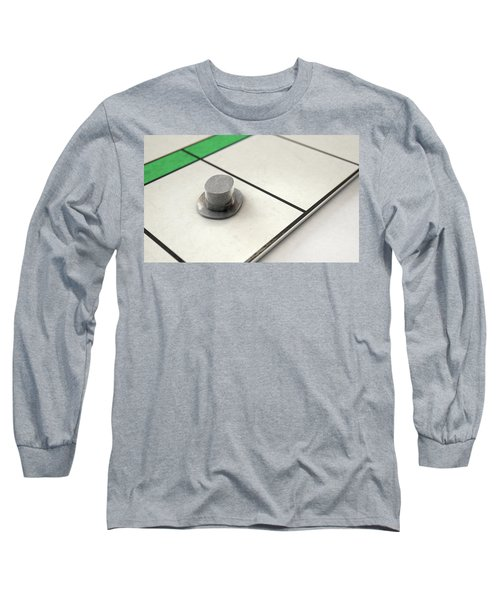 Hat Icon On A Boardgame Long Sleeve T-Shirt