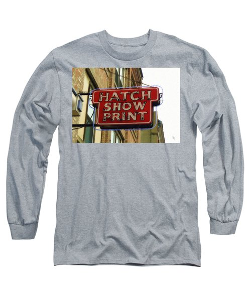 Hatch Show Print Long Sleeve T-Shirt