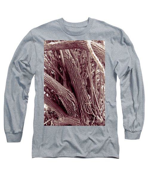 Hau Trees Long Sleeve T-Shirt by Mukta Gupta