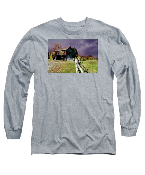 Time To Leave Long Sleeve T-Shirt by Diana Angstadt