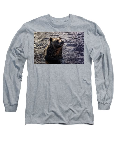 Having A Bath Long Sleeve T-Shirt