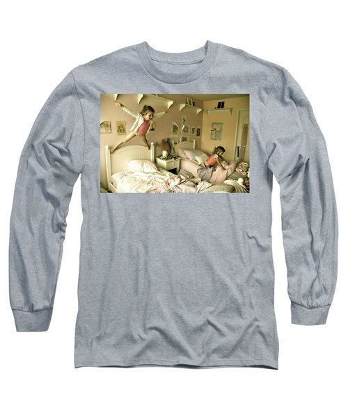 Having A Blast Long Sleeve T-Shirt by Valerie Rosen