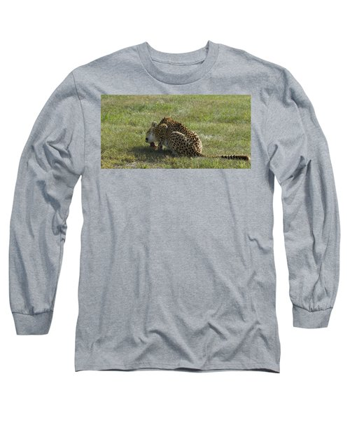 Having Lunch Long Sleeve T-Shirt