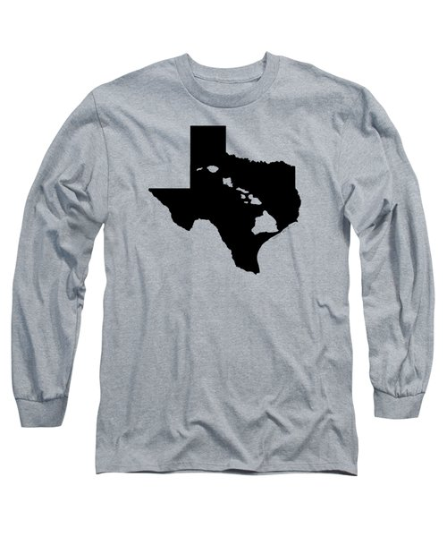 Hawai'i And Texas Roots By Hawaii Nei All Day Long Sleeve T-Shirt