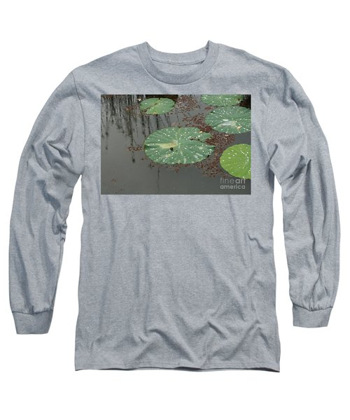 Hawaiian Lilly Pad 1 Long Sleeve T-Shirt
