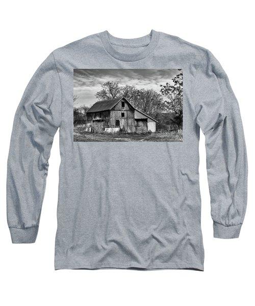 Hay Storage Long Sleeve T-Shirt by Nicki McManus