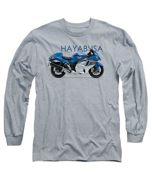 Hayabusa In Blue Long Sleeve T-Shirt